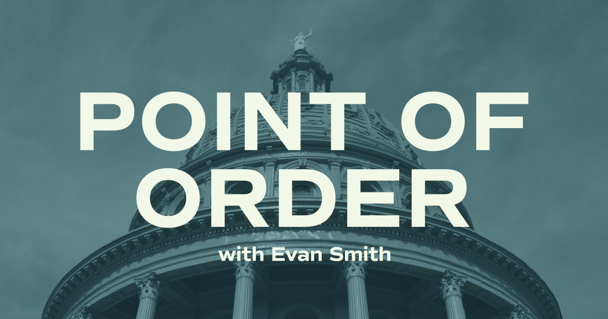 Point of Order with Evan Smith Podcast