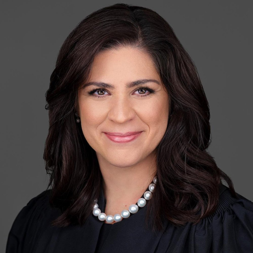 Supreme Court Justice Rebeca Huddle