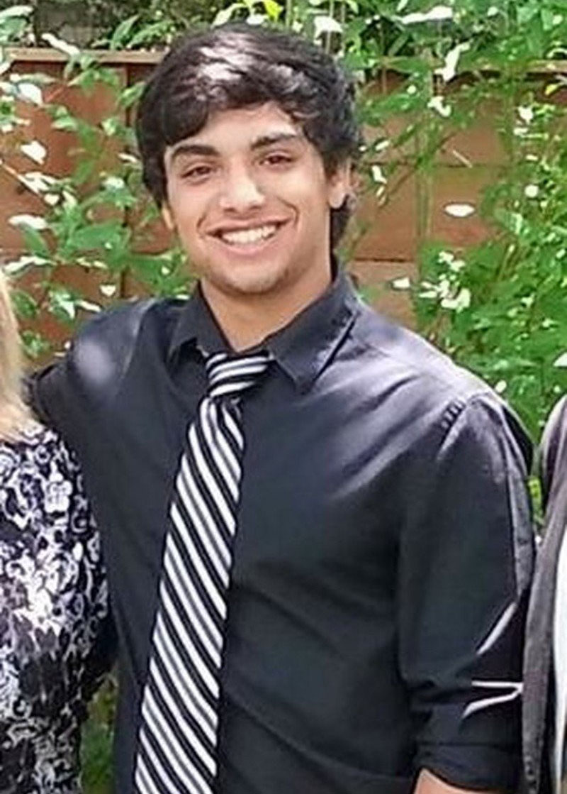 Zachary Anam, who shot himself while in custody of the Austin Police Department in January 2017.
