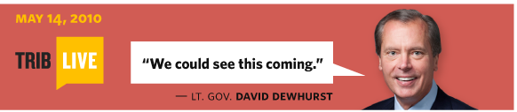 5/14/2010 Lt. Gov. David Dewhurst We could see this coming.