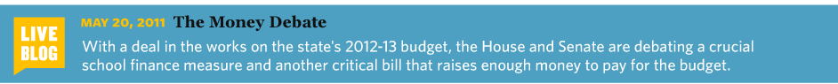 5/17/2011 Combs Finds Another $1.2 Billion for Budget That's not enough money to settle the differences between the House and Senate — their budgets differed by $4 billion in education alone — but it'll help.