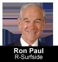 Ron Paul, R-Surfside