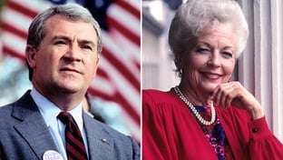 Jim Mattox and Ann Richards