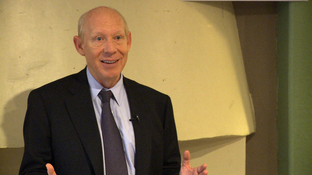 Bill White speaking in Austin, TX on November 20, 2009.
