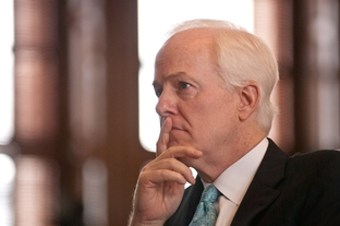 U.S. Sen. John Cornyn in the House chamber of the Texas Capitol