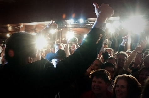 Gov. Rick Perry after his primary victory on March 2, 2010.