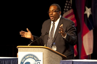 State Sen. Royce West D-Dallas at the 2010 Texas Democratic convention in Corpus Christi, Tex. on June 26.