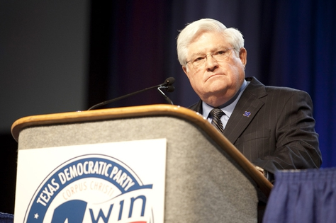 Democratic Party Chair Boyd Richie at the 2010 Texas Democratic convention in Corpus Christi, Tex. on June 26.