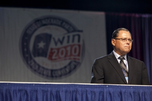 State Sen. José Rodríguez, D-El Paso, on June 26, 2010, at the Texas Democratic Convention in Corpus Christi.