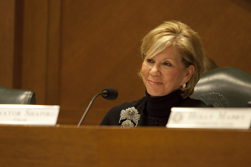 State Sen. Florence Shapiro, R-Plano, Chair of the Senate Committee on Education, on July 20, 2010.