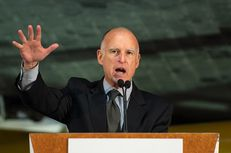 Gov. Jerry Brown of California