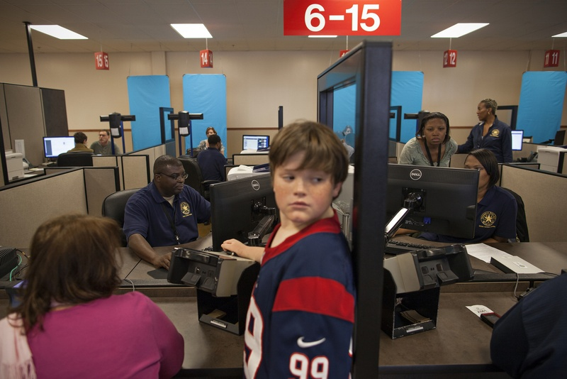 The Austin-Pflugerville Driver License Mega Center, which opened to the public on October 30, 2012, is one of six new facilities that have opened in the state since the 82nd legislature approved $63 million in funding for them.