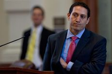 Rep. Trey Martinez-Fischer D-San Antonio,  at back mike of house on February 7th, 2013