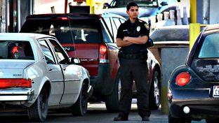El Paso border agent.