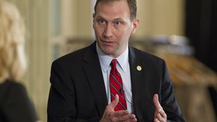 Sen. Charles Schwertner R-Georgetown, at a February Texas Tribune event.