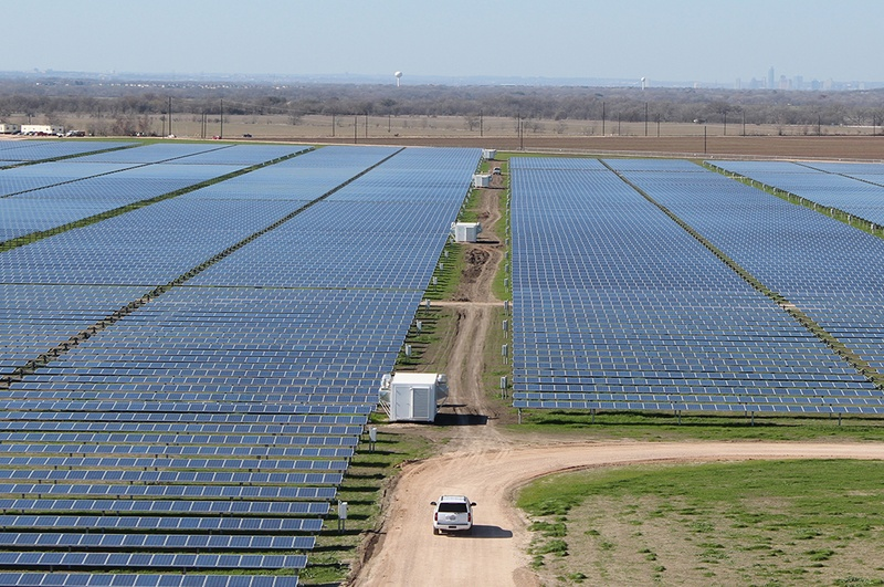 Webberville Solar Project near Austin.