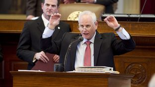 State Rep. Allan Ritter, R-Nederland, on the House floor on March 27, 2013.