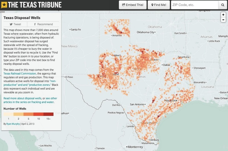 Fracking Map Texas Business Ideas 2013