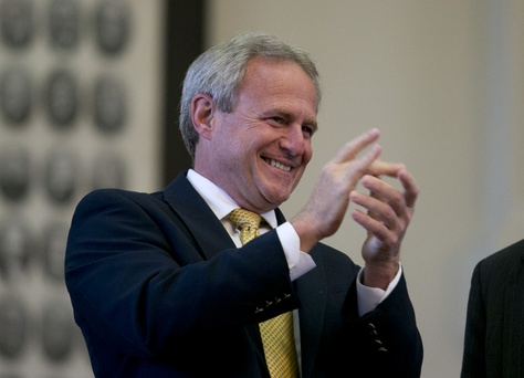 Michael Morton at the Texas Capitol in 2013.