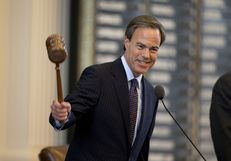 House Speaker Joe Straus gavels out the 83rd Legislative session at Sine Die 5:03 PM on May 27, 2013.