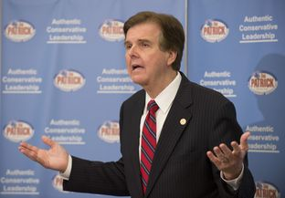 State Sen. Dan Patrick, R-Houston, says he will run to replace Lt. Gov. David Dewhurst in an announcement June 27, 2013.