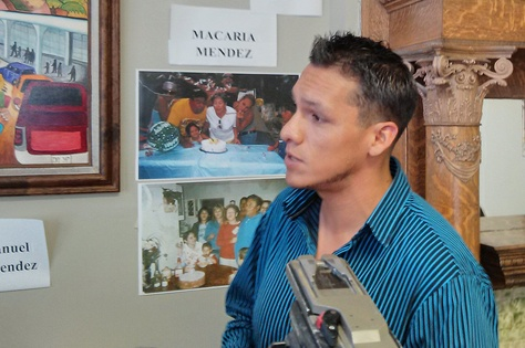 Christian Chaidez, 30, was granted by an immigration judge a withholding of removal after applying for asylum. Ten of his family members were murdered in Ciudad Juárez for refusing to pay extortion to criminal gangs.