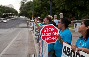 "As provisions of Texas' new abortion law await their fate at a federal appeals court, judges will have to decide whether the restrictions present an ""undue burden"" on women seeking the procedure."
