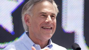 Greg Abbott on July 14, 2013, announcing his run for governor.