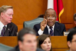 February 6th, 2013 House appropriations committee hearing with Rep. Sylvester Turner D-Houston and Rep. Jim Pitts R-Waxahachie.