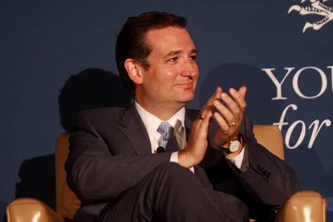 U.S. Sen. Ted Cruz, R-Texas, speaking at the 2013 Young Americans for Liberty National Convention at George Mason University in Arlington, Va., on July 31, 2013.