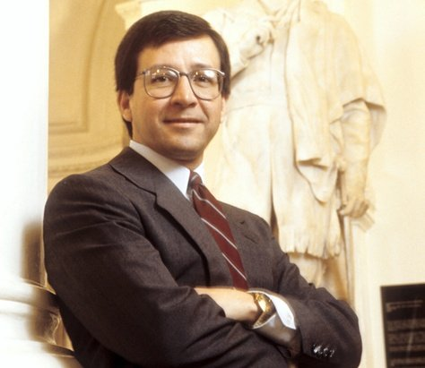 Former Texas Attorney General Dan Morales poses at the State Capitol in 1995