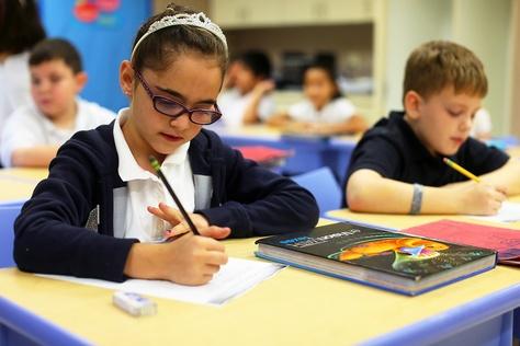 Eleanor Kolitz Hebrew Language Academy charter school, San Antonio, TX, October 14, 2013.