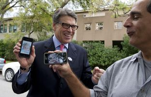 Gov. Rick Perry has ruffled feathers across the country by encouraging businesses in other states to relocate to Texas. Now, cities like Chicago and Washington, D.C., are doing the same thing at South by Southwest — right in Perry's backyard.
