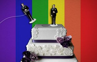 The state Supreme Court heard arguments Tuesday over whether same-sex couples legally married in other states can be granted divorces in Texas.
