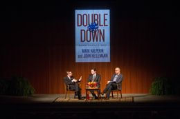 """The LBJ Presidential Library and The Texas Tribune host """"An Evening with Mark Halperin and John Heilemann"""" about their new book """"Double Down: Game Change 2012,"""" their account of the 2012 presidential election."""