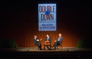 Here's audio of Evan Smith's Nov. 18 conversation with veteran political reportersMark Halperin and John Heilemann, whose newbook on the 2012 presidential campaign,Double Down, is already a best-seller.