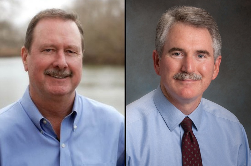 State Reps. Ralph Sheffield, R-Temple, left, and J.D. Sheffield, R-Gatesville, right.