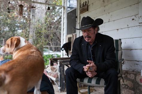 Kinky Friedman is shown at his Medina, Texas, ranch.