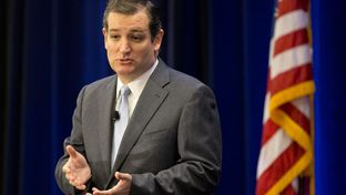 U.S. Sen. Ted Cruz of Texas at Texas Public Policy Foundation speech on Jan.10, 2014.