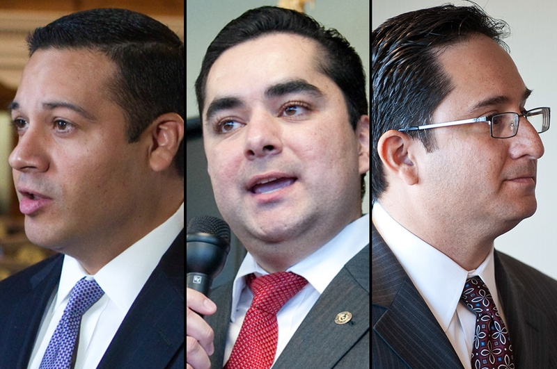 State Reps. Jason Villalba, R-Dallas; Jose Manuel Lozano, R-Kingsville; and Larry Gonzales, R-Round Rock, are the GOP's three Hispanic incumbents in the state House. They will face off against Democrats and Libertarians in the general election in November.