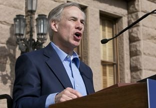 Texas Attorney General and candidate for Governor of Texas, Greg Abbott gives keynote speech during the Texas Rally for Life on January 25th, 2014