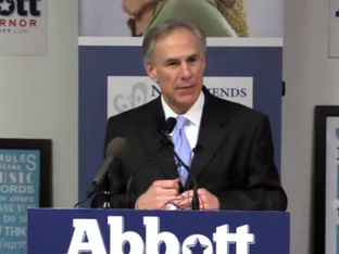 "Attorney General and Republican gubernatorial candidate Greg Abbott talked about border security, criminal justice and other issues during his ""Securing Texans"" address in Dallas on Tuesday, Jan. 4, 2014."