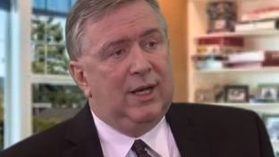 YouTube screenshot of U.S. Rep. Steve Stockman, R-Friendswood, from a Western Center for Journalism interview on Feb. 2, 2014.