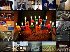 Birthday cake photo by Will Clayton/ Creative Commons