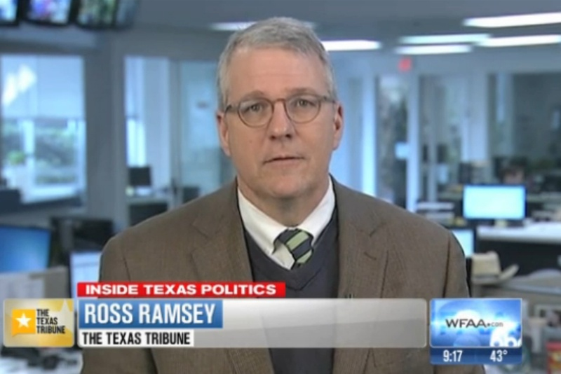 Ross Ramsey on WFAA TV's Inside Texas Politics, Feb. 9, 2014.