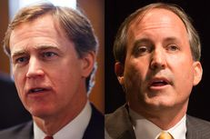 State Rep. Dan Branch, R-Dallas, and state Sen. Ken Paxton, R-McKinney, are in a runoff for attorney general.