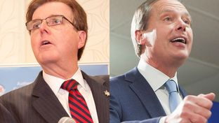 State Sen. Dan Patrick and Lt. Gov. David Dewhurst are in a runoff in the GOP lieutenant governor's race.