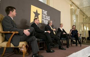 Reeve, Evan, Ross and Emily participate ina special live edition of the TribCast at the Austin Club on the morning after Tuesday's primary election. Morgan, Aman and Jim make special appearances.