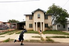"""3006 Frost is one of several homes cleared for teardown in the """"Operation Crackdown"""" project in Laredo, TX, March 26, 2014."""