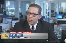 Texas Tribune CEO and Editor-in-Chief Evan Smith on WFAA TV's Inside Texas Politics on March 30, 2014.
